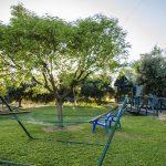חצר בצימר בדרום בכרם הזיתים